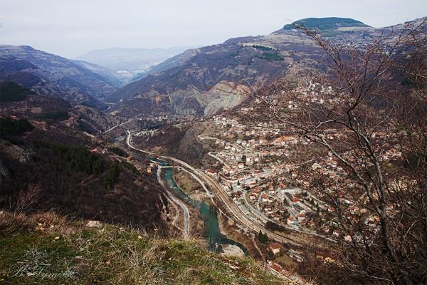 Част от Вазовата екопътека – село Заселе